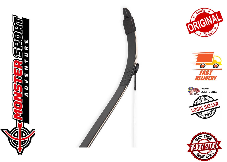 Oak Ridge Archery Black Palomino Korean Carbon Horse Bow 53inch