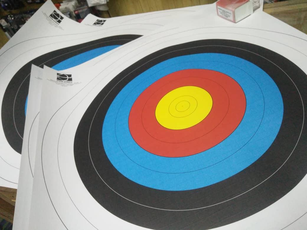 JVD WA Target Face 80cm 10rings - Target Archery