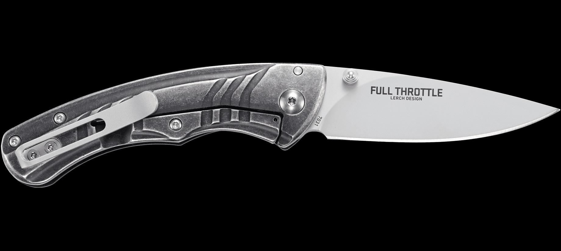 CRKT Full Throttle Framelock AO Folding Blade Knife