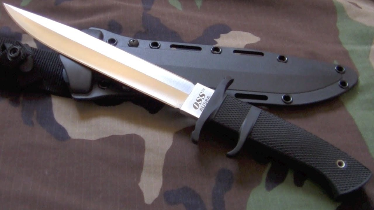 Cold Steel OSS Fighter Fixed Blade Knife