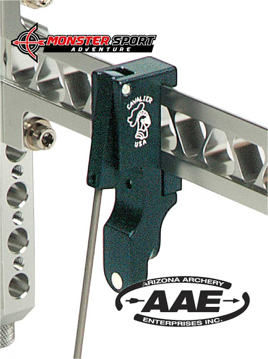 AAE Arizona Archery Cavalier Extended Clicker