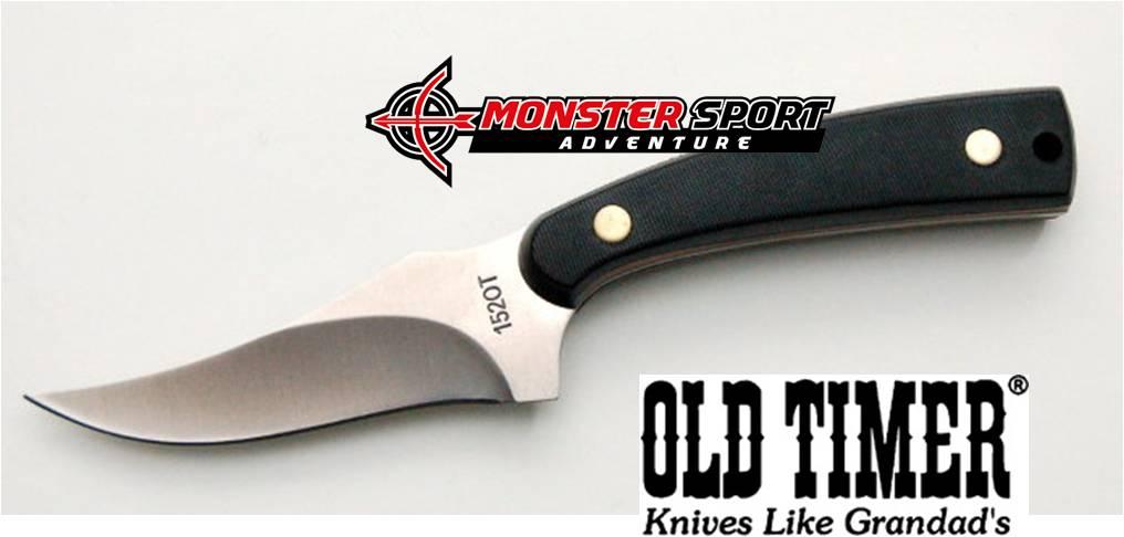 Schrade Old Timer Sharpfinger Fixed Blade Knife 152OTCP-C