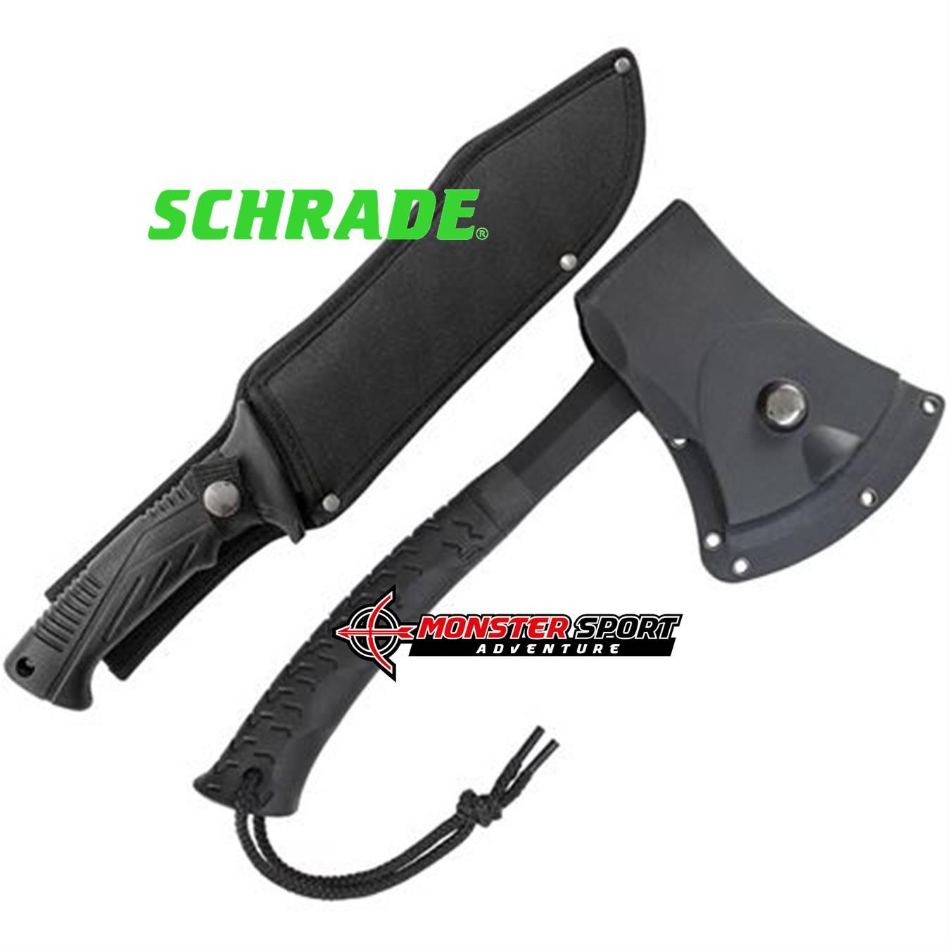 Schrade Machete & Hatchet Combo Set SCHCOM6