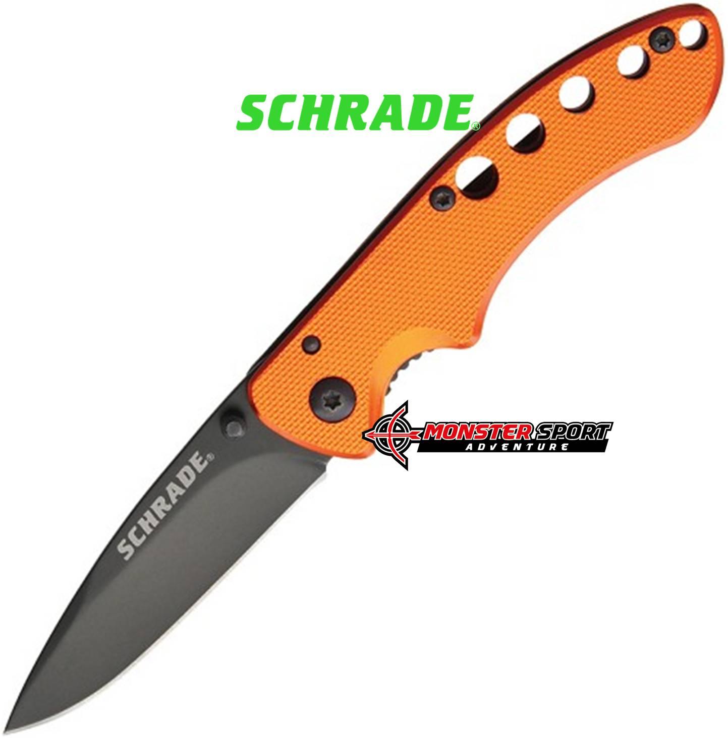 Schrade Linerlock Folding Orange SCH107CPA