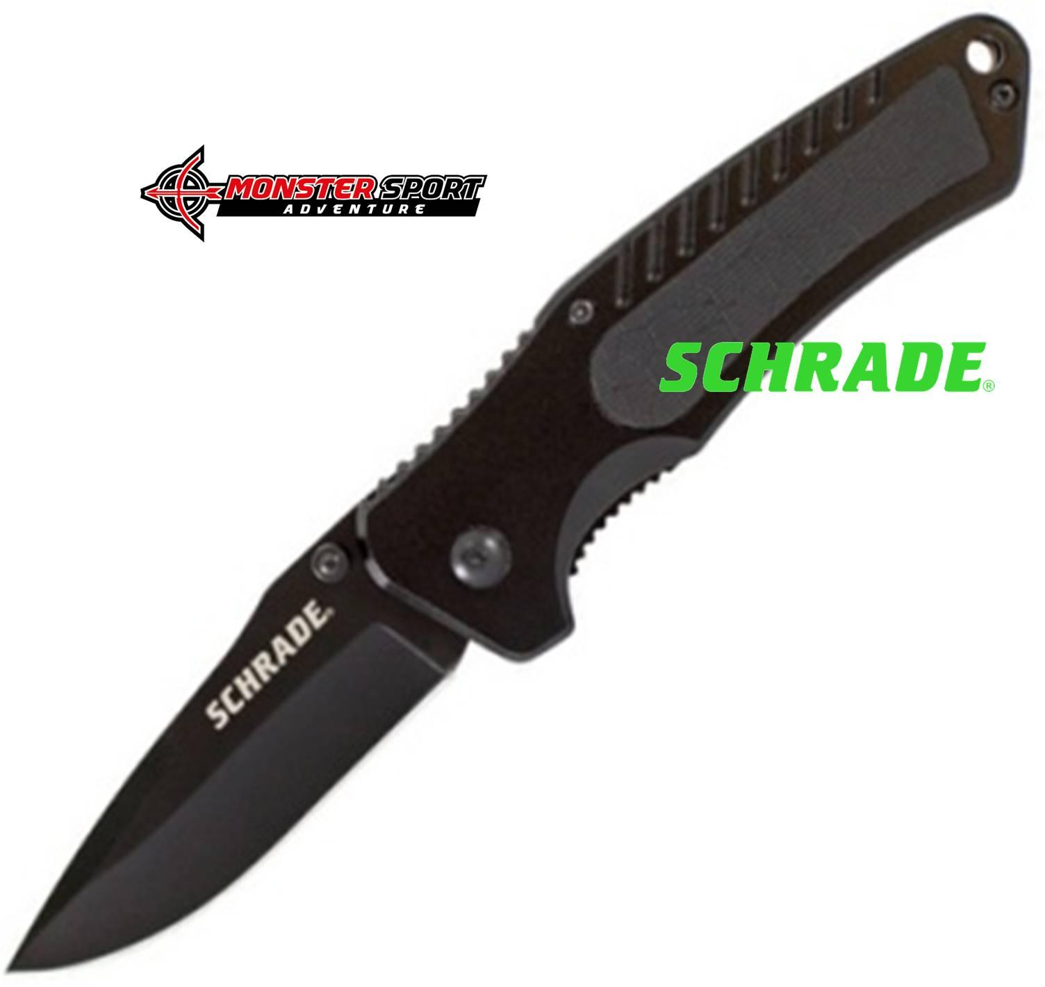 Schrade Linerlock Black SCH206CPA