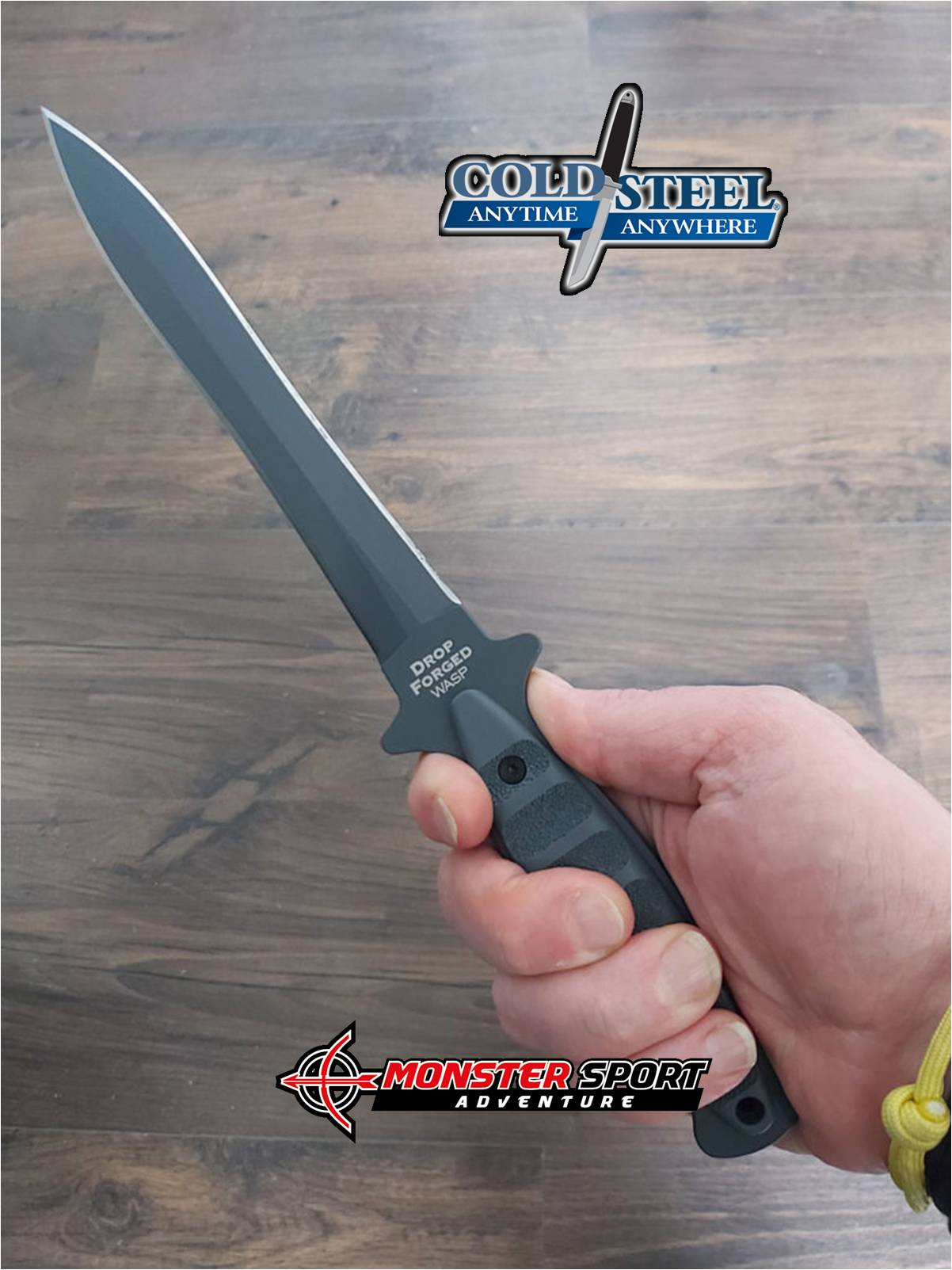 Cold Steel Drop Forged Wasp Fixed Blade CS36MCD